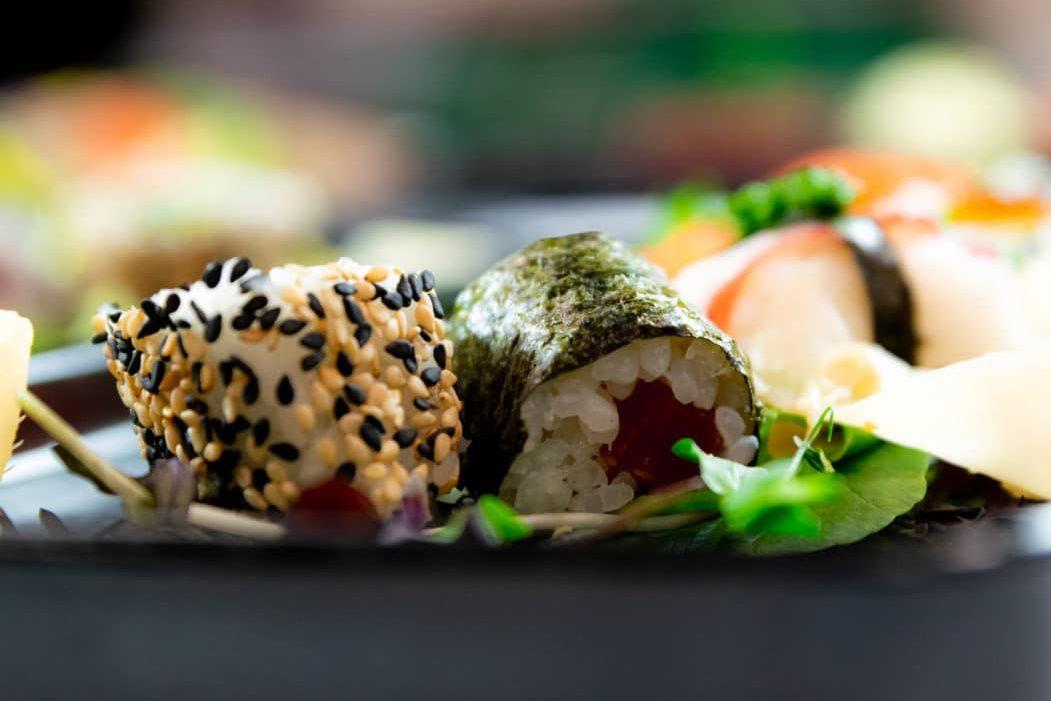 Sushi im Caveau